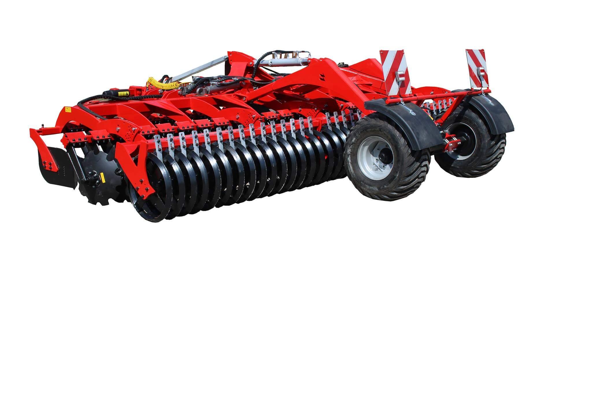 Oferta maszyn rolniczych - Brona talerzowa składana hydraulicznie półzawieszana
